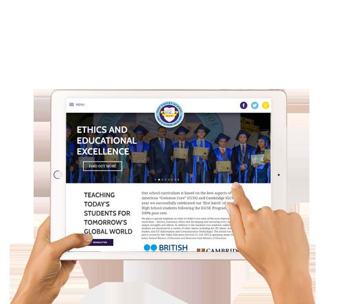 School Website Design And Development
